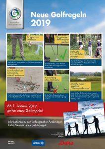 Neue Golfregeln